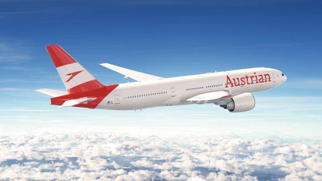 austria airlines flug innsbruck
