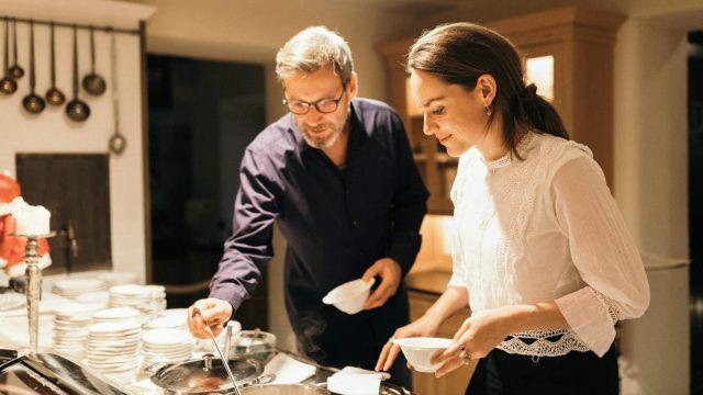 wiesenhof kulinarik abend buffet2